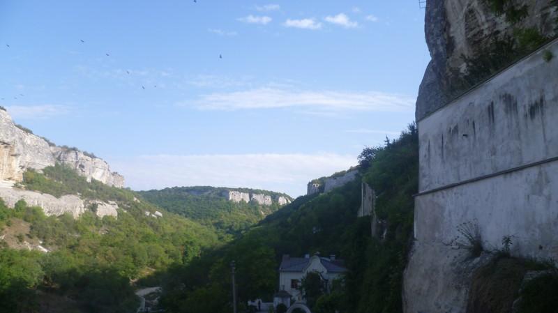 Красота город Чуфут-Кале, крым, пещерный город, пещерный город Чуфут-Кале