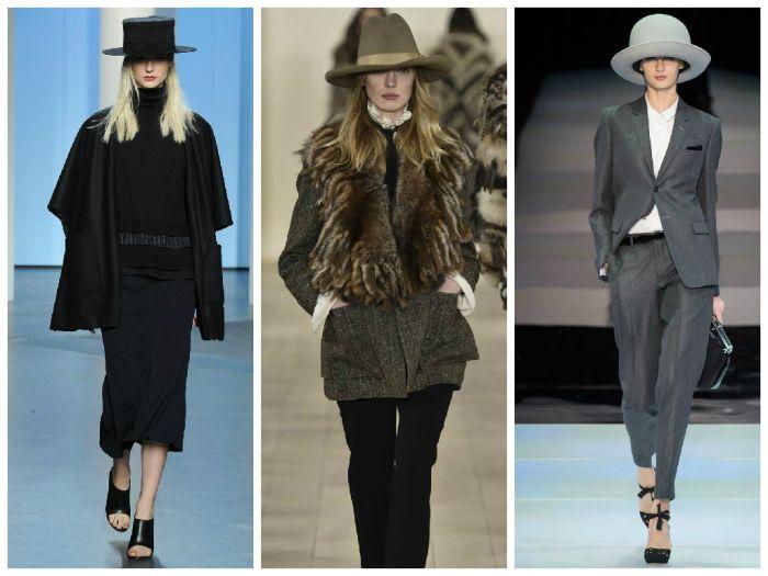 Модные шляпы осень-зима 2015-2016