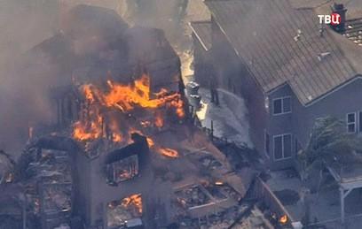 В Калифорнии из-за лесных пожаров пострадали более 100 человек