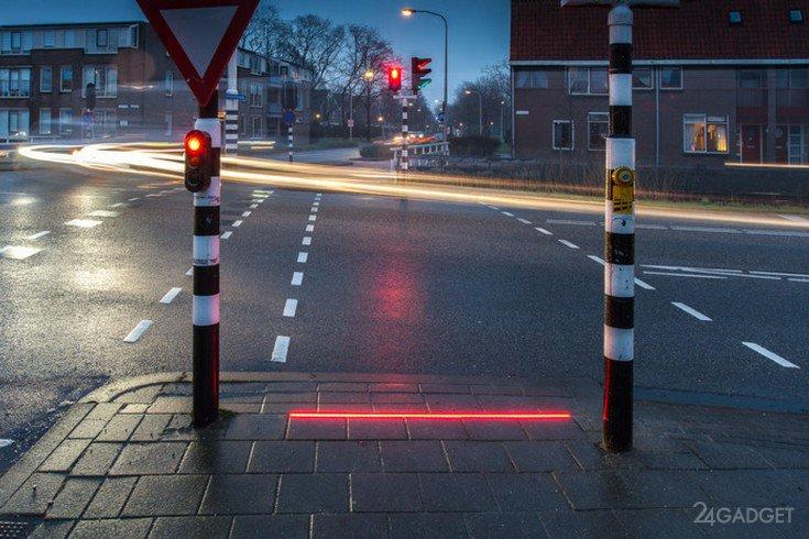 Нидерланды перенимают немецкий способ борьбы с гаджетозависимыми на дороге