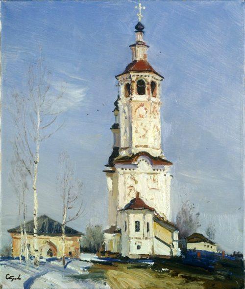 Северная чудо-красота  на пейзажах кисти Валерия Николаевича Страхова