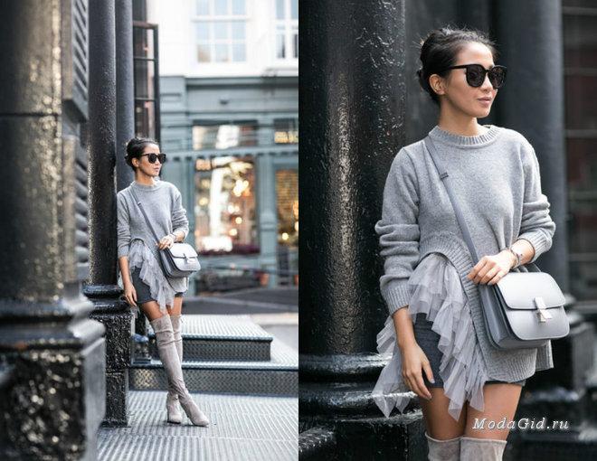 Серая осень: как носить серый цвет и быть модным