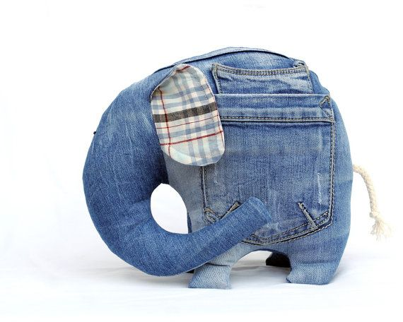 Игрушки из джинса своими руками фото