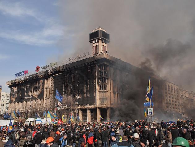 Провал Майдана: Украина станет разменной монетой в сделке Трампа и Путина