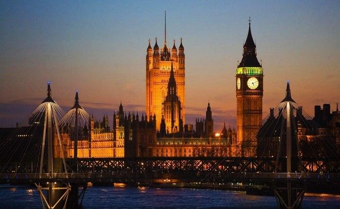 Вестминстерский дворец, Лондон