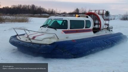 Дорыбачились: мужчины провалились под лёд в парке 300-летия
