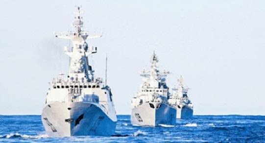 Китайские патрульные корабли вторглись вводы спорных островов