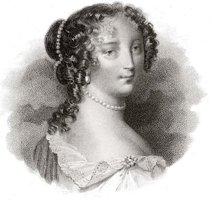 Маркиза Ментенон - фаворитка короля Людовика XIV