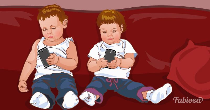 Засекали, сколько ваш ребенок проводит времени с телефоном?