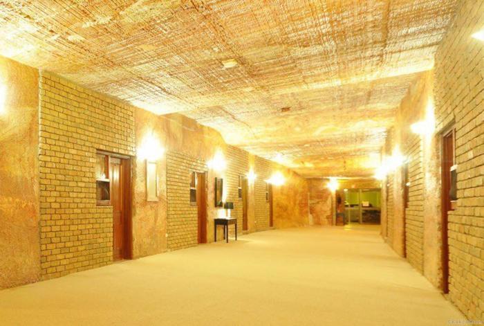 Улицы-туннели подземного города Кубер-Педи (Австралия). | Фото: kakzachem.ru.