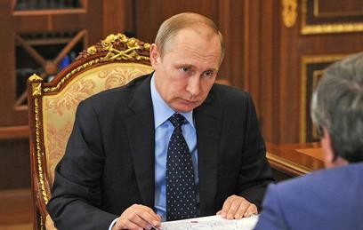 Путин провел встречу с губернатором Новосибирской области