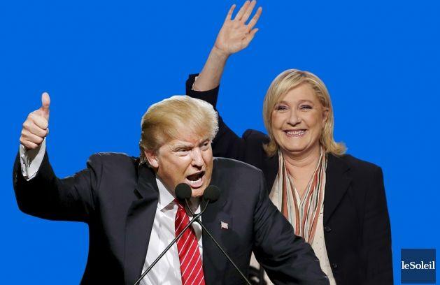 Дональд Трамп и Марин Ле Пен: сойдутся ли две политические линии?