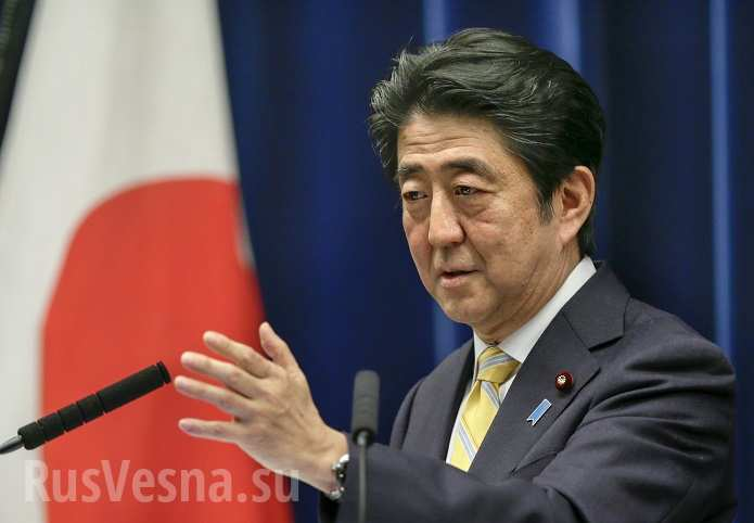 Готов положить конец территориальному спору с Россией, — Абэ