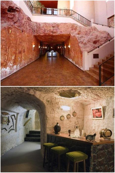 В подземном городе каждый участок туннеля оформлен в соответствии с потребностями туристов (Кубер-Педи, Австралия). | Фото: soulblog.ru.