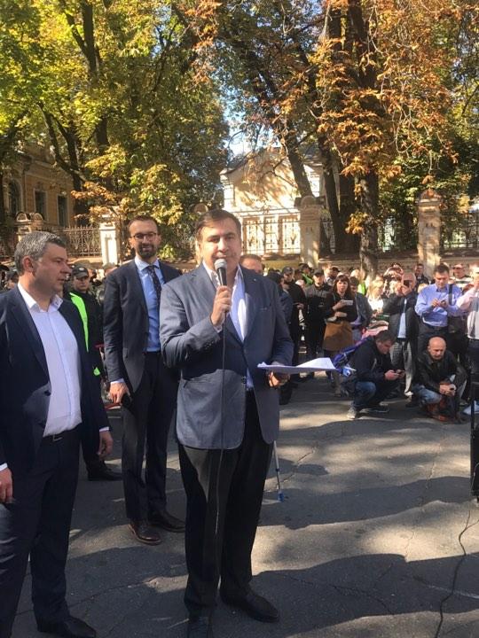 Саакашвили уже в Киеве