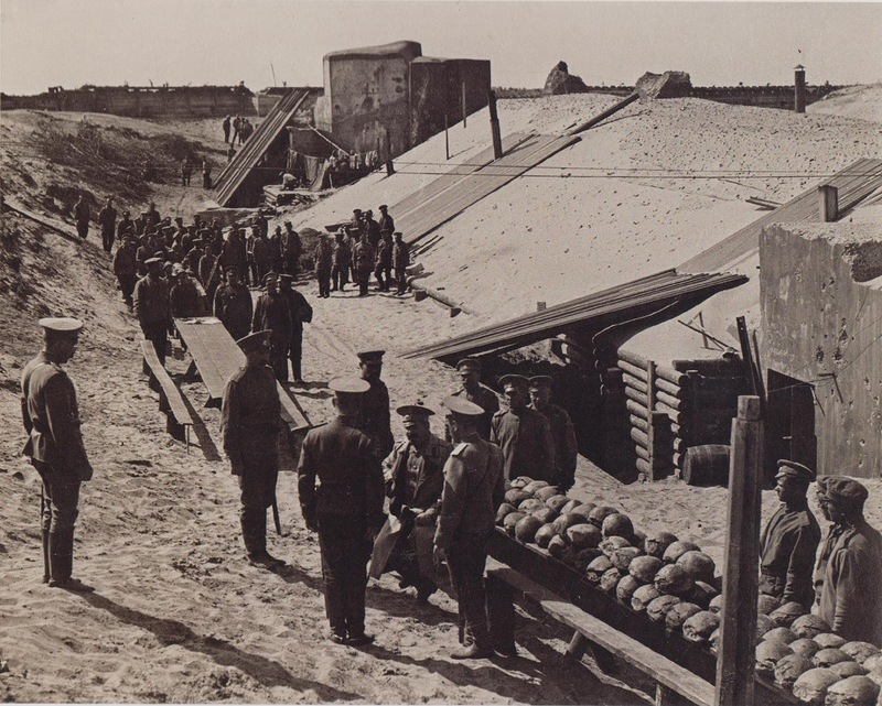 Быт и отдых воинов Первой мировой в фотографиях. Русская армия