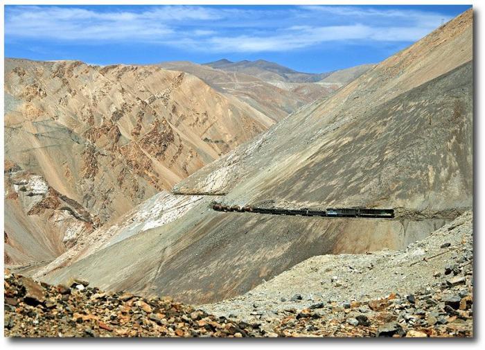 Железная дорога в Чили