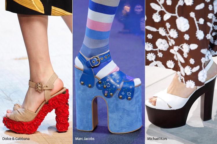 Модные тенденции обуви сезона весна/лето 2017, фото