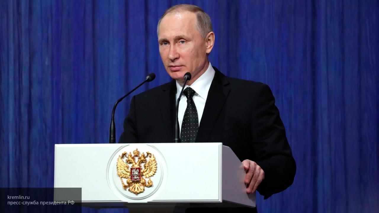 Путин заявил о необходимости пресекать попытки дестабилизации общественного порядка