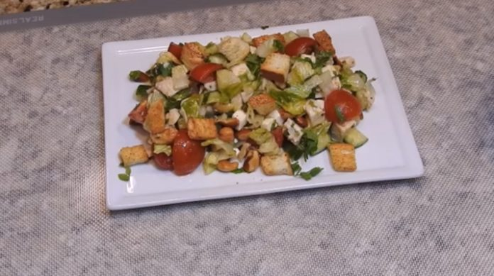 Самый вкусный летний салат «Малибу»