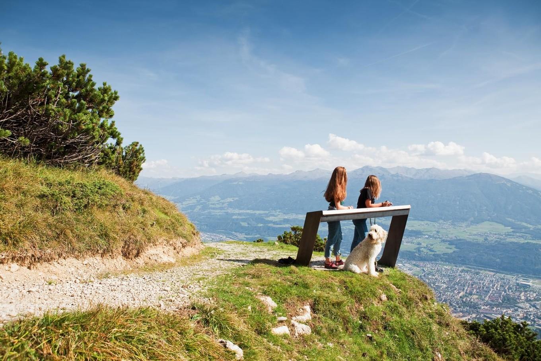 Смотровая в австрийских Альпах