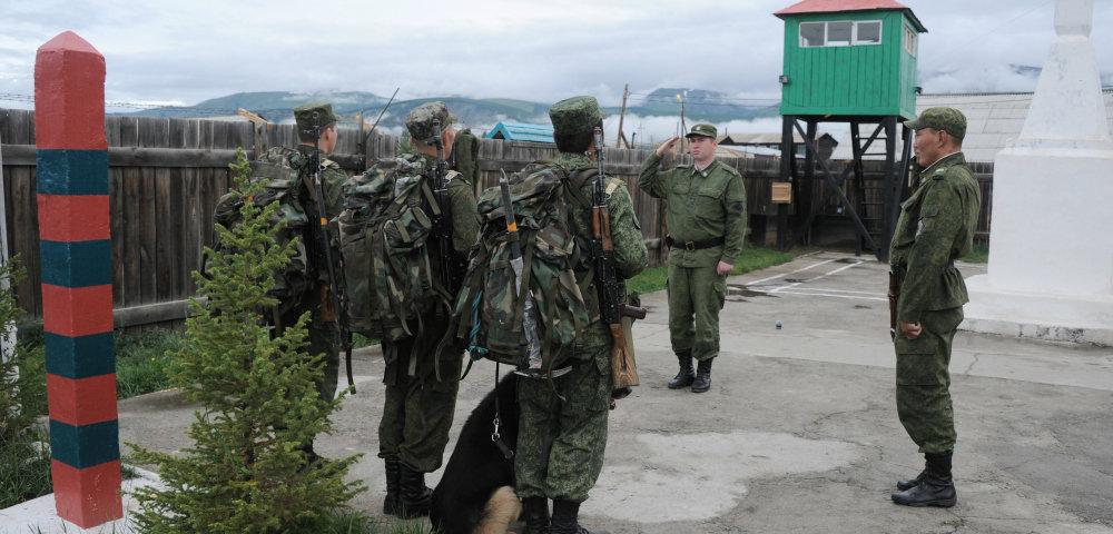 Граница РФ, пограничный наряд