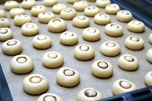 Печенье ГРИБОЧКИ. Не только красиво выглядят, но и очень вкусные!!!
