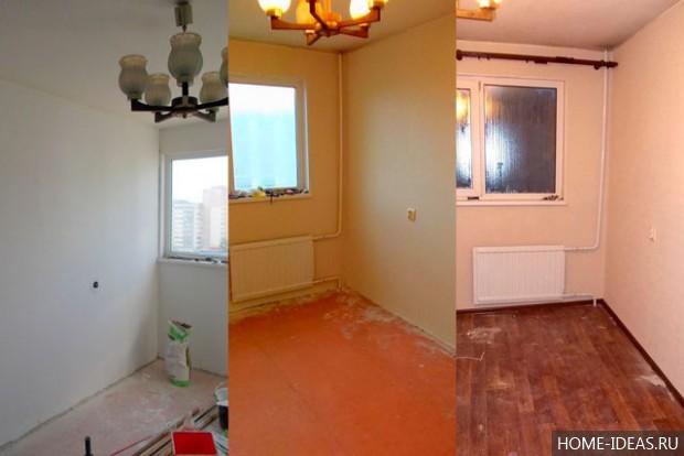 Бюджетный ремонт квартиры своими руками: фото до и после