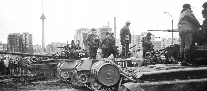 """Вильнюский телецентр, """"свои стреляли в своих"""""""