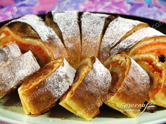Рулет с морковно-лимонной начинкой – рецепт с фото, болгарская кухня