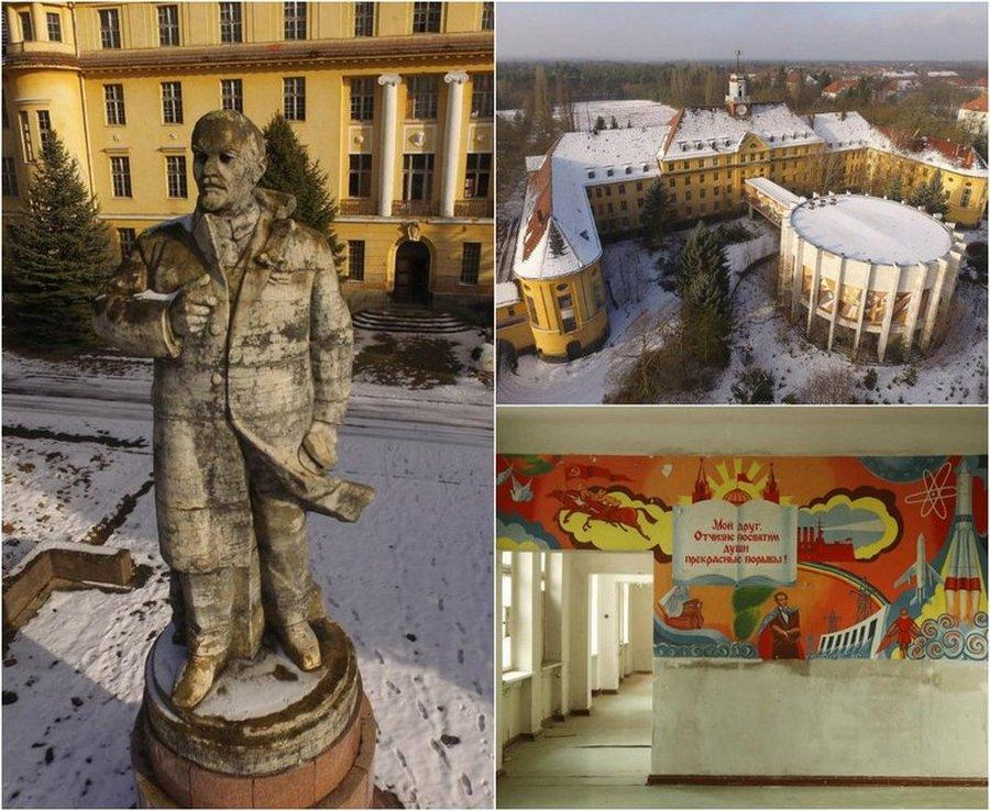Заброшенная советская военная база в Германии