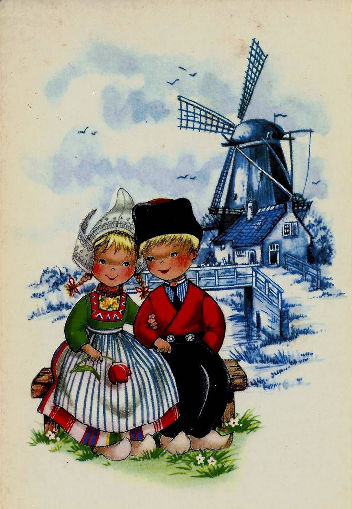 Открытки из голландии