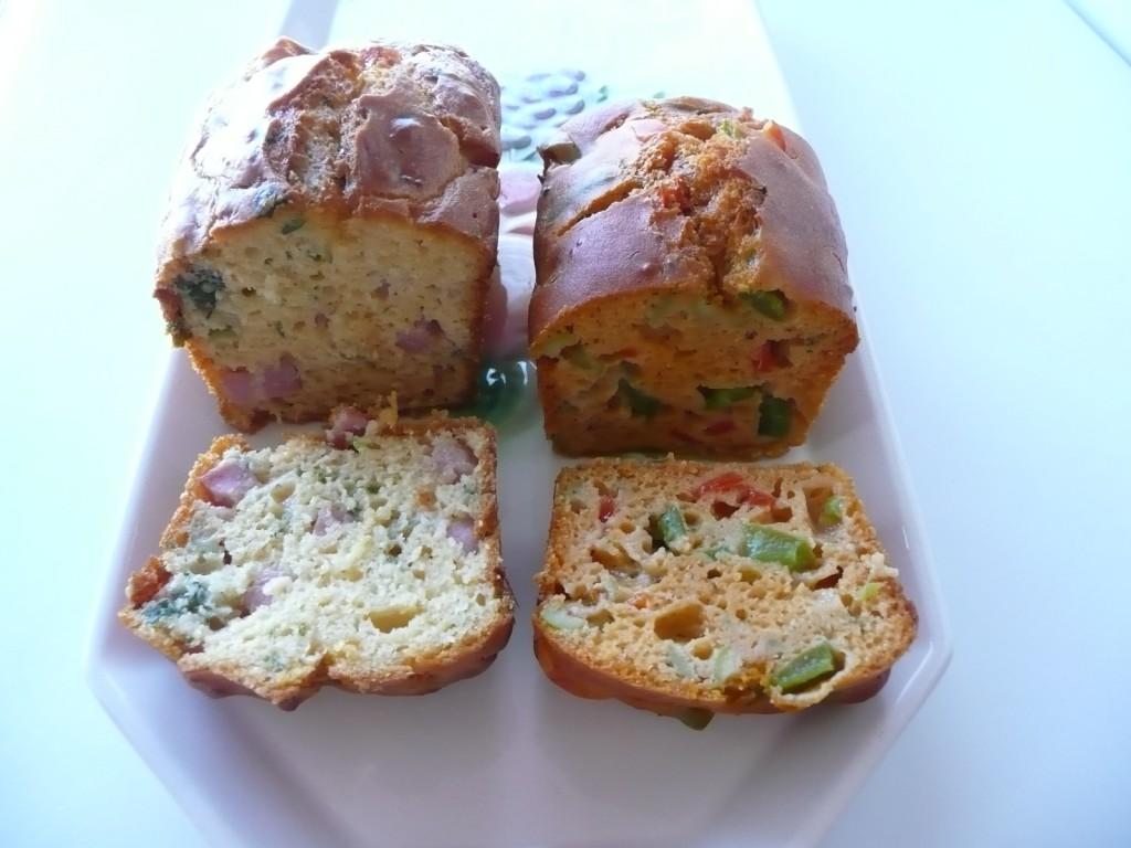 закусочные мини кексы (с сыром и ветчиной), (болгарский перец , оливки, кетчуп)