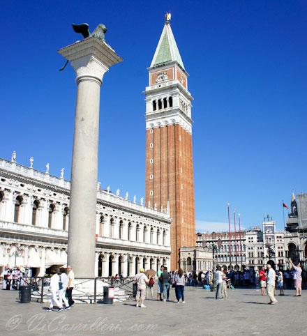 Венеция. Колькольня Сан-Марко