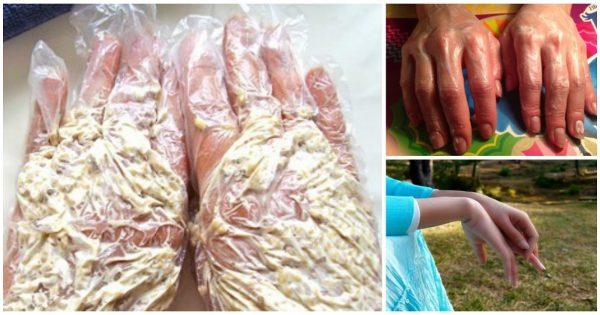 Трюк для идеальной кожи рук: омолаживающая кашка из 3 ингредиентов!