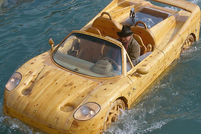 Как Ferrari соберете, так она и поплывет