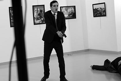СМИ сообщили об участии убийцы Карлова в охране мероприятий с участием Эрдогана