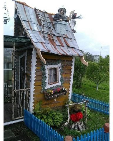 Дачный туалет))