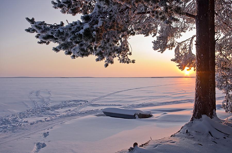Русская зима: 30 самых красивых уголков нашей страны
