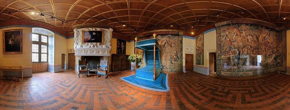 Замок Шенонсо: дамский замок (Франция)