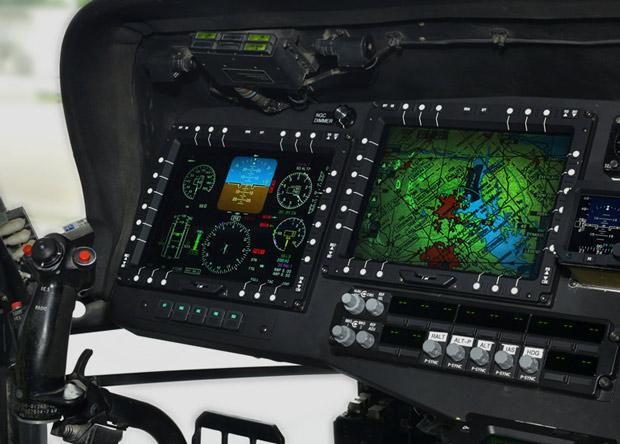 Вертолет Black Hawk оснастили «стеклянной» кабиной