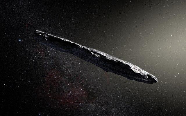 Первый открытый межзвёздный объект оказался необычным