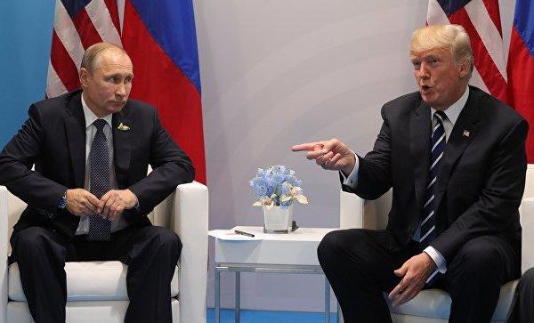 Трамп поблагодарил Путина за высылку американских дипломатов из РФ