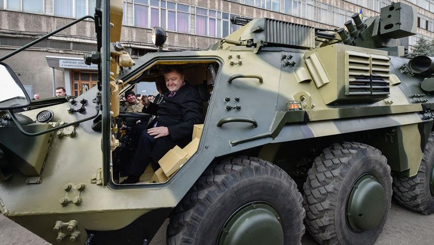 Легкая бронетехника ВСУ на Донбассе