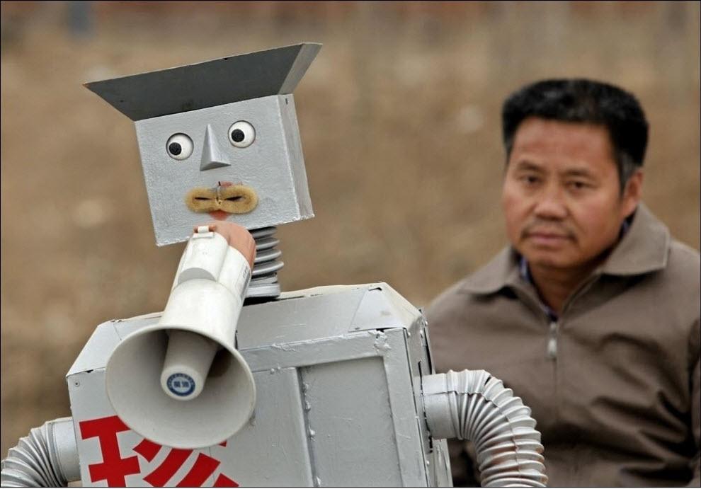 2138 47 роботов китайского изобретателя