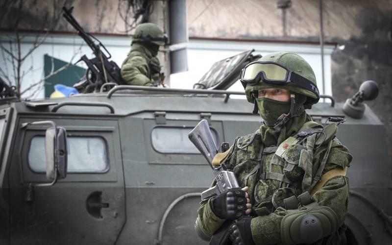 Западный взгляд на российские силы специального назначения в Крыму и на Донбассе