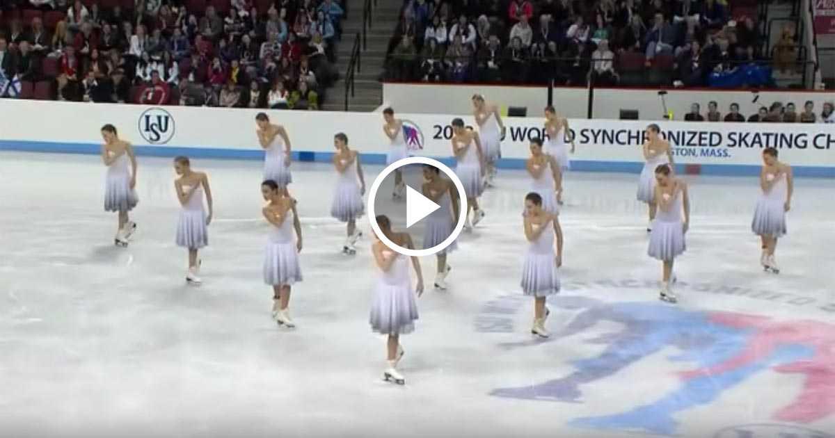 Танцы на льду. Великолепная постановка и чудесное исполнение