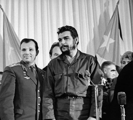 Юрий Гагарин и Че Гевара в Москве