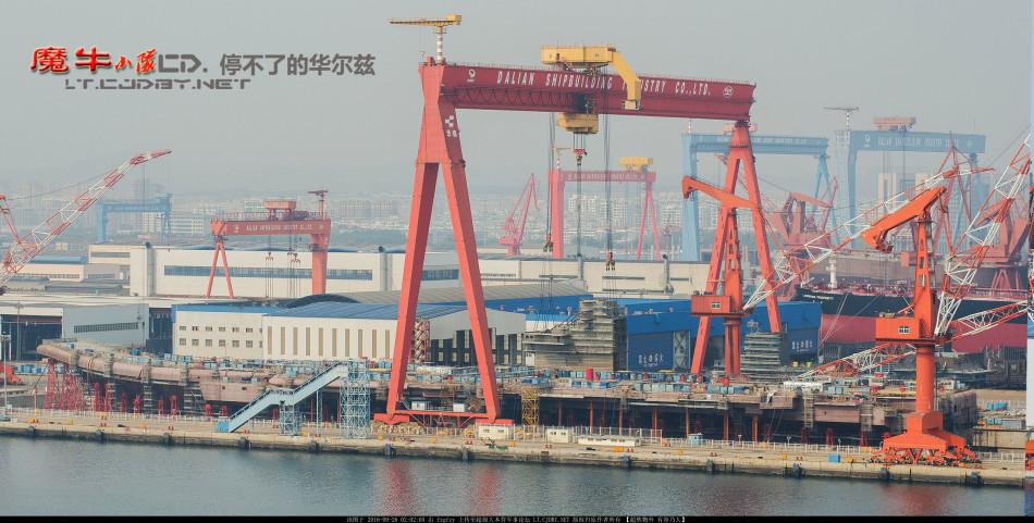 Строительство нового китайского авианосца ведется высокими темпами
