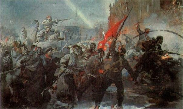 Большевики стали осуществлять новый проект развития, спасая не только Россию, но и всё человечество